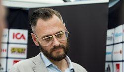 160603 Olof Lundh, TV4 och Fotbollskanalen inför en träning med Sveriges fotbollslandslag den 3 juni 2016 i Båstad. Foto: Petter Arvidson / BILDBYRÅN / kod PA / 91405