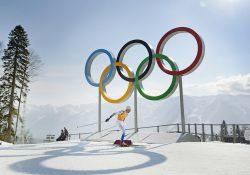 140216 Sveriges Johan Olsson under herrarnas stafett över 4x10 km under OS i Sochi den 16 februari 2014. Foto: Carl Sandin / BILDBYRÅN / kod CS / 98080