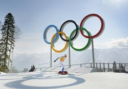OS 2014, Skidor, Stafett
