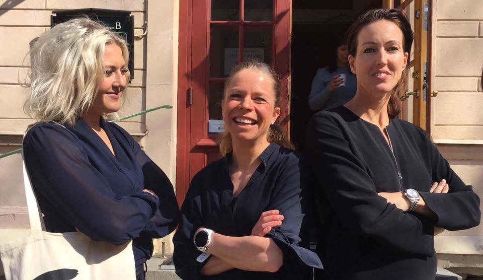 Boxaren Klara Svensson, skidåkaren Maria Rydqvist och simmaren Therese Alshammar delade med sig av sina erfarenheter. Foto: Jenny Modin