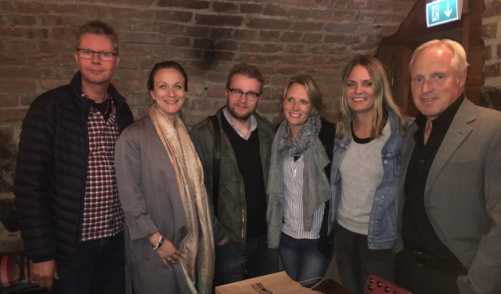 Delar av nya SSF-styrelsen: Ulf Niklasson, Lena Sundqvist, Lars Folkesson, Lisa Edwinsson, Jenny Modin och Mats Olsson. Foto: Malin Christoffersson