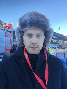 Kristoffer Bergström, Aftonbladet, är Årets sportjournalist 2017.